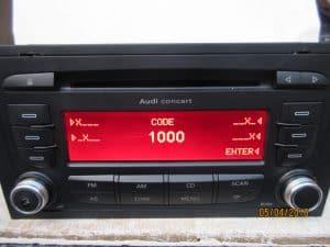 need a radio code ?
